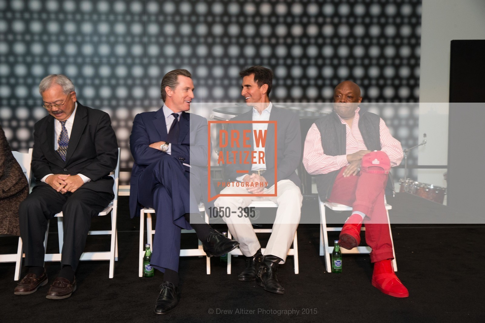 Gavin Newsom, Mark Leno, Willie Brown, 10th Anniversary of the new de Young: Community Day, de Young Museum, October 17th, 2015,Drew Altizer, Drew Altizer Photography, full-service agency, private events, San Francisco photographer, photographer california