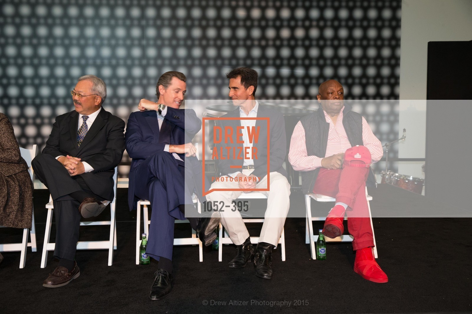 Ed Lee, Gavin Newsom, Mark Leno, Willie Brown, 10th Anniversary of the new de Young: Community Day, de Young Museum, October 17th, 2015,Drew Altizer, Drew Altizer Photography, full-service agency, private events, San Francisco photographer, photographer california