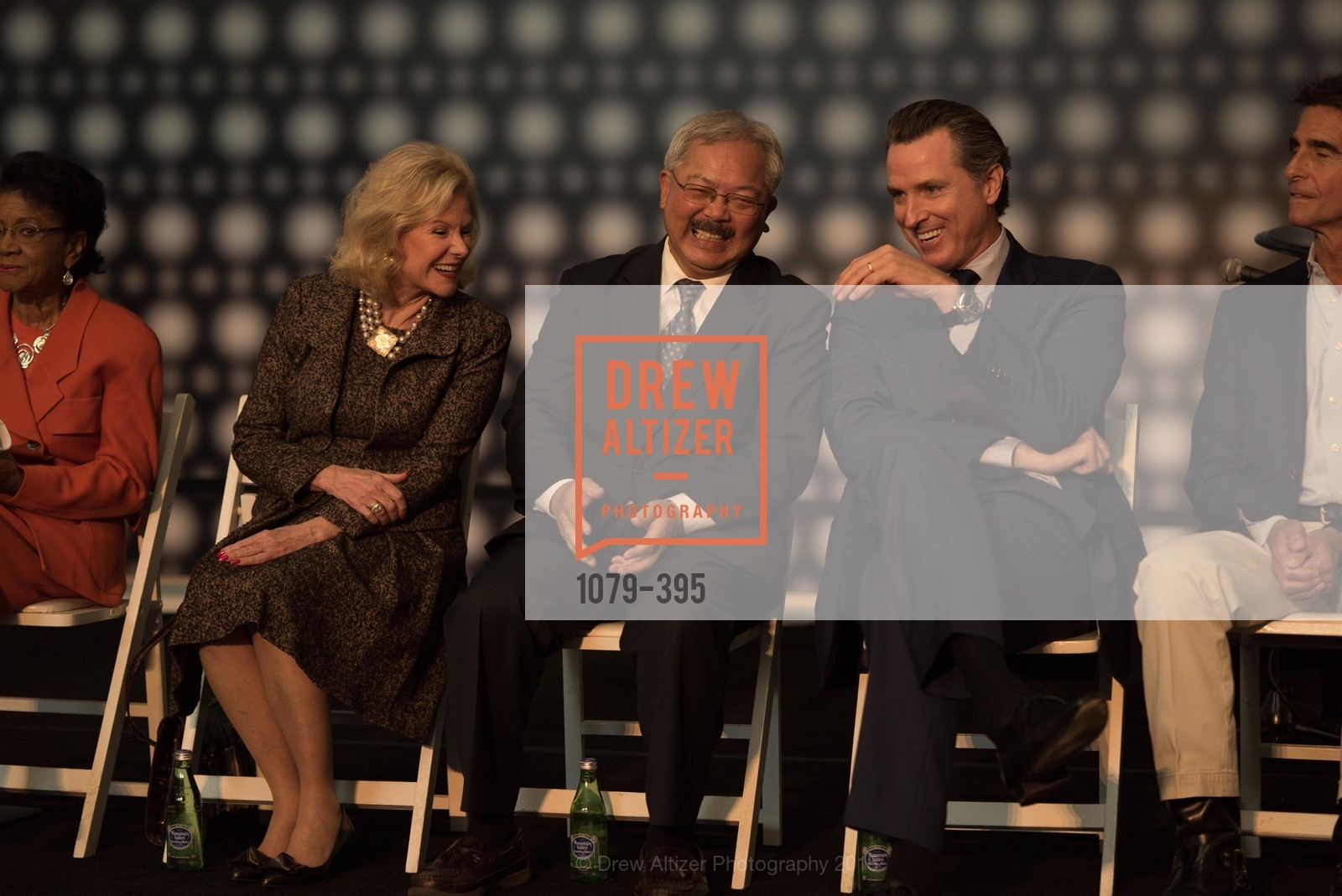 Dede Wilsey, Ed Lee, Gavin Newsom, 10th Anniversary of the new de Young: Community Day, de Young Museum, October 17th, 2015,Drew Altizer, Drew Altizer Photography, full-service agency, private events, San Francisco photographer, photographer california