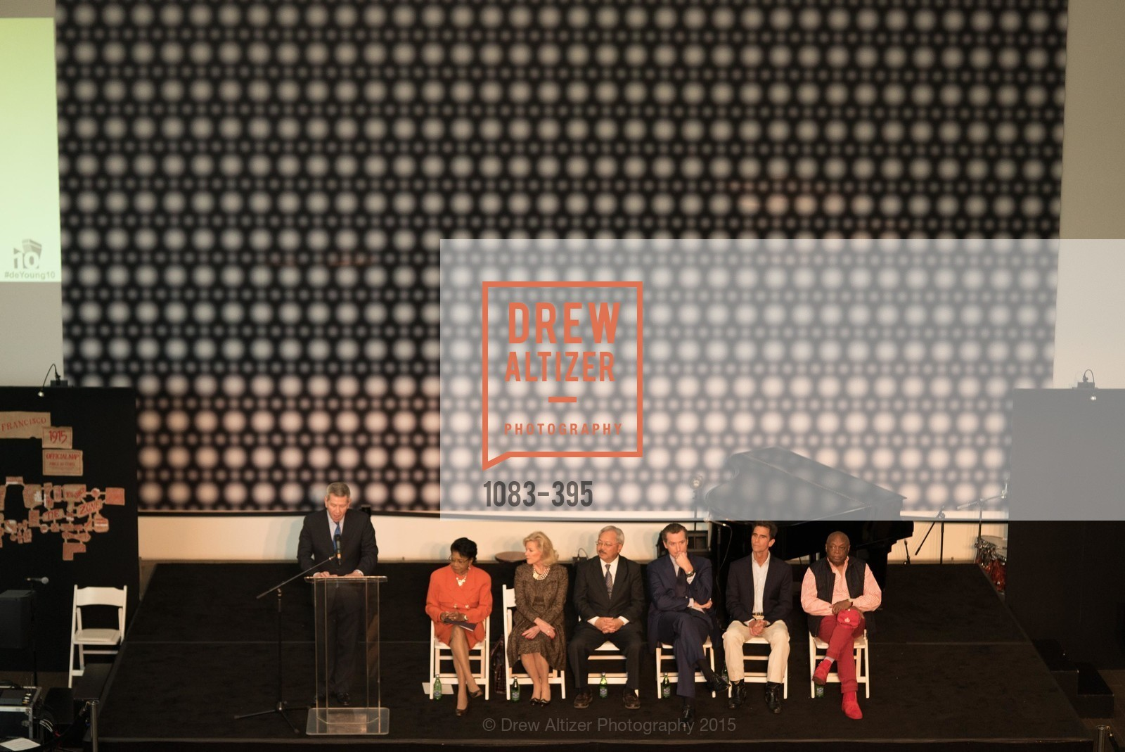 Richard Benefield, Belva Davis, Dede Wilsey, Ed Lee, Gavin Newsom, Mark Leno, Willie Brown, 10th Anniversary of the new de Young: Community Day, de Young Museum, October 17th, 2015,Drew Altizer, Drew Altizer Photography, full-service agency, private events, San Francisco photographer, photographer california