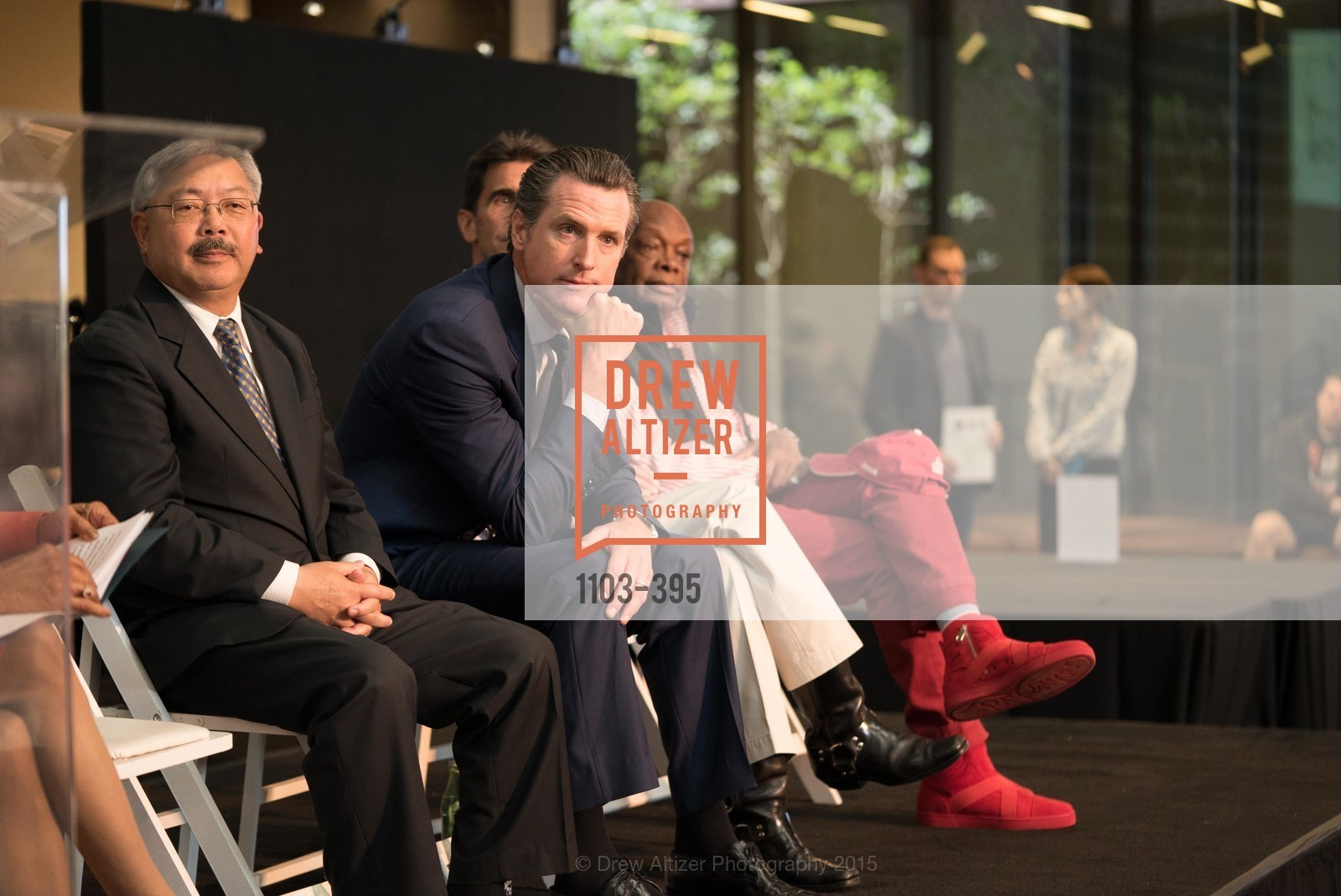 Ed Lee, Gavin Newsom, Willie Brown, 10th Anniversary of the new de Young: Community Day, de Young Museum, October 17th, 2015,Drew Altizer, Drew Altizer Photography, full-service agency, private events, San Francisco photographer, photographer california
