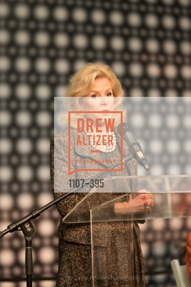 Dede Wilsey, 10th Anniversary of the new de Young: Community Day, de Young Museum, October 17th, 2015