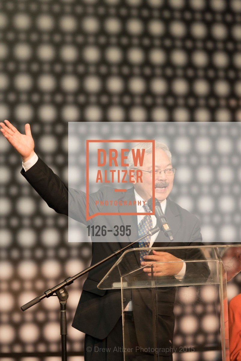 Mayor Ed Lee, 10th Anniversary of the new de Young: Community Day, de Young Museum, October 17th, 2015,Drew Altizer, Drew Altizer Photography, full-service agency, private events, San Francisco photographer, photographer california