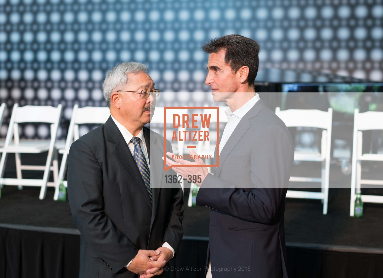 Mayor Ed Lee, Mark Leno, 10th Anniversary of the new de Young: Community Day, de Young Museum, October 17th, 2015,Drew Altizer, Drew Altizer Photography, full-service agency, private events, San Francisco photographer, photographer california