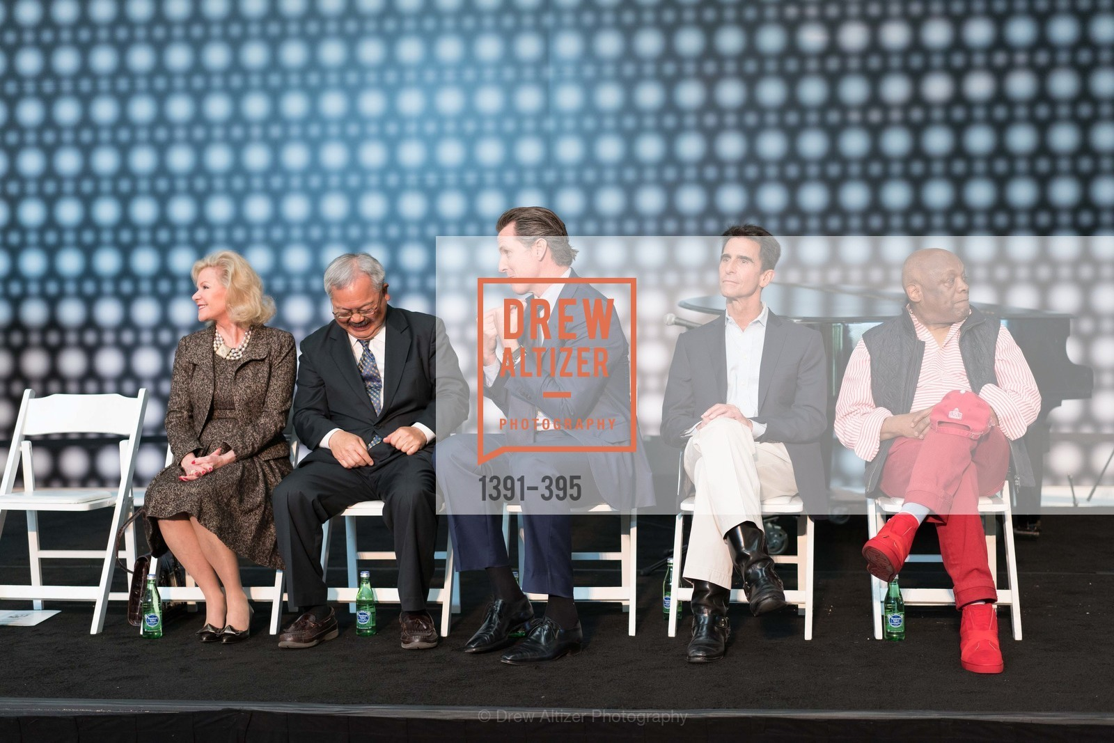 Dede Wilsey, Ed Lee, Gavin Newsom, Mark Leno, Willie Brown, 10th Anniversary of the new de Young: Community Day, de Young Museum, October 17th, 2015,Drew Altizer, Drew Altizer Photography, full-service event agency, private events, San Francisco photographer, photographer California