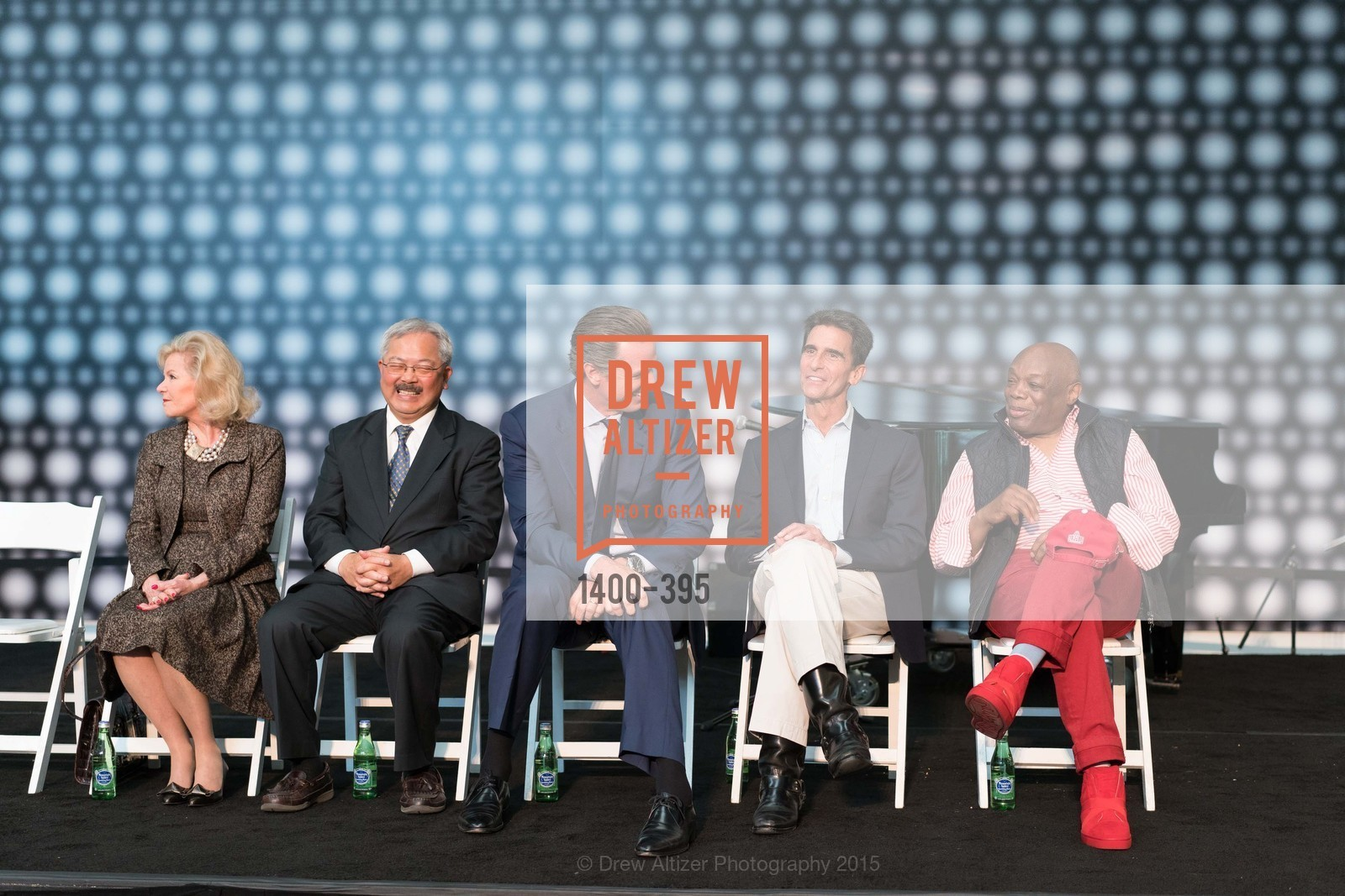 Dede Wilsey, Ed Lee, Gavin Newsom, Mark Leno, Willie Brown, 10th Anniversary of the new de Young: Community Day, de Young Museum, October 17th, 2015,Drew Altizer, Drew Altizer Photography, full-service agency, private events, San Francisco photographer, photographer california