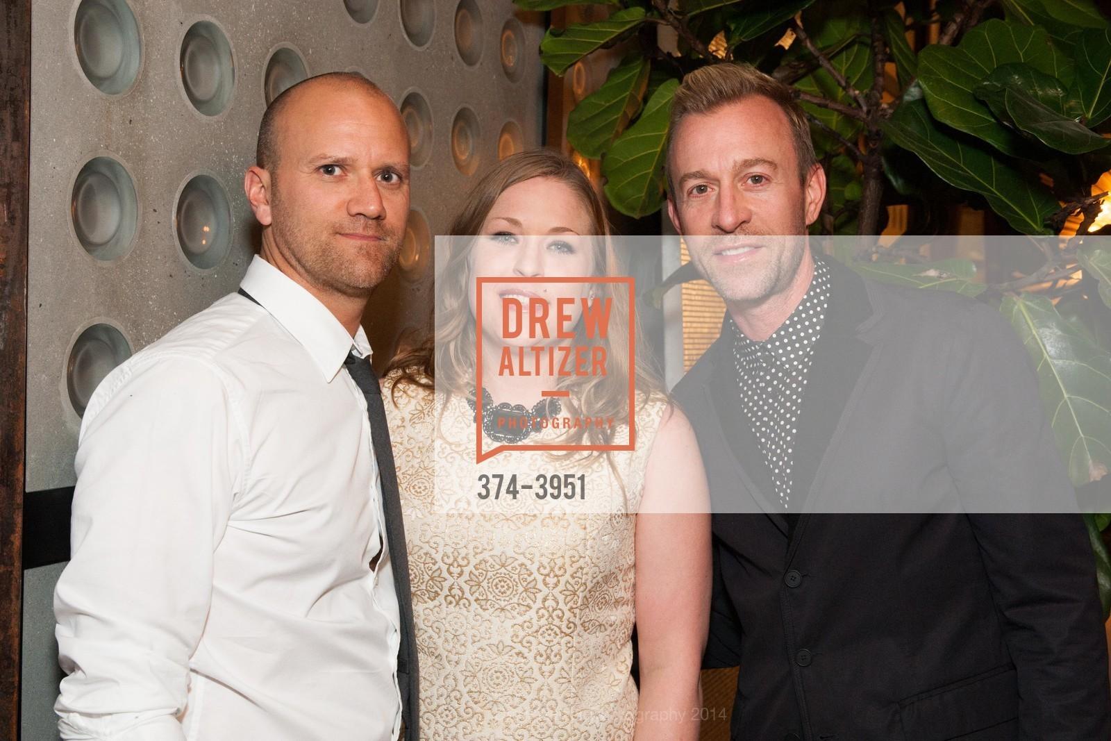 Andy Reid, Alana Dorn, Michael Purdy, Photo #374-3951