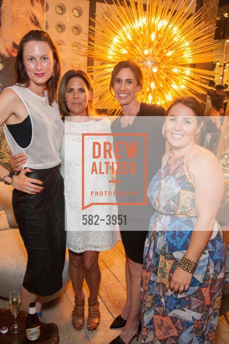 Emilie Munro, Judy Kail, Allison Davin, Rebecca Fletcher, Photo #582-3951