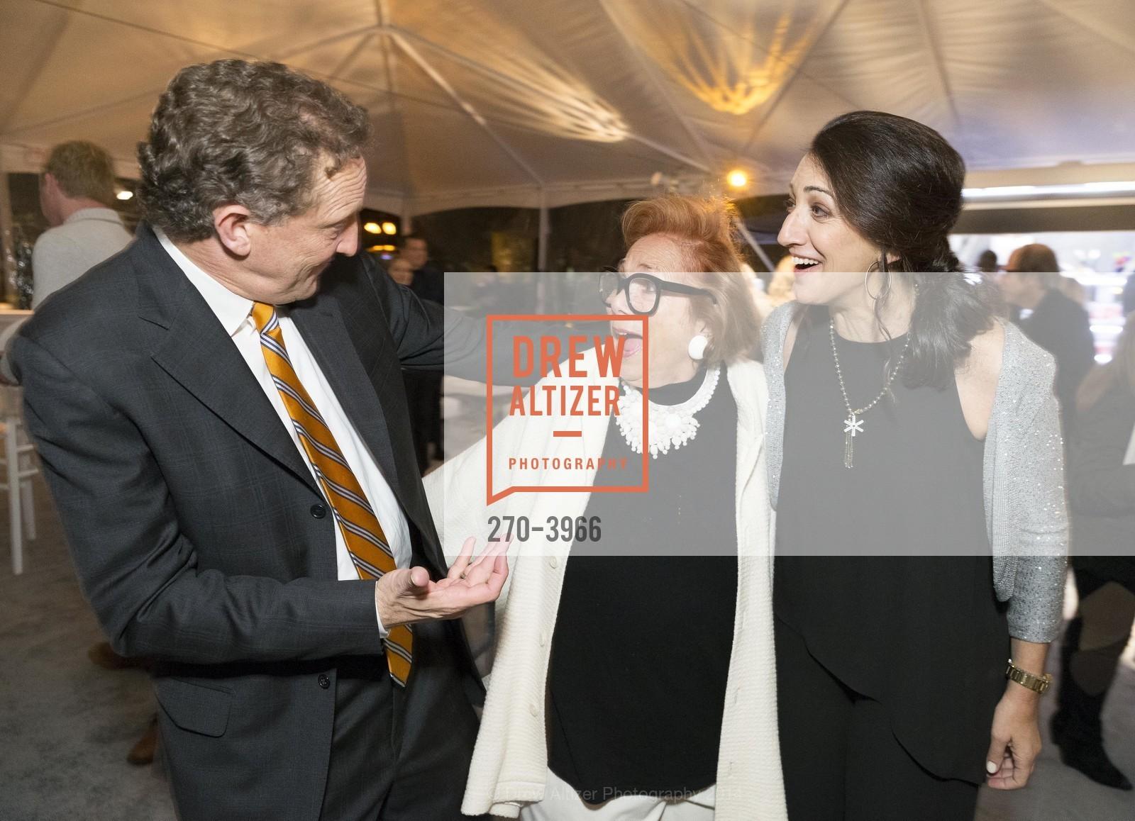 Larry Baer, Ellen Newman, Pam Baer, Photo #270-3966