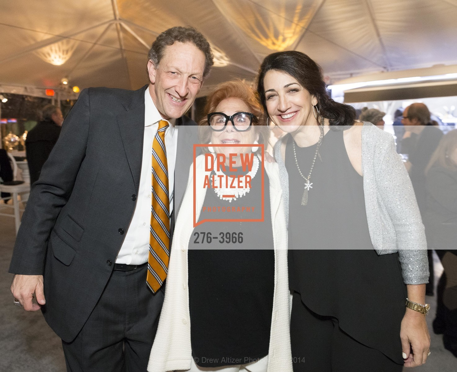 Larry Baer, Ellen Newman, Pam Baer, Photo #276-3966
