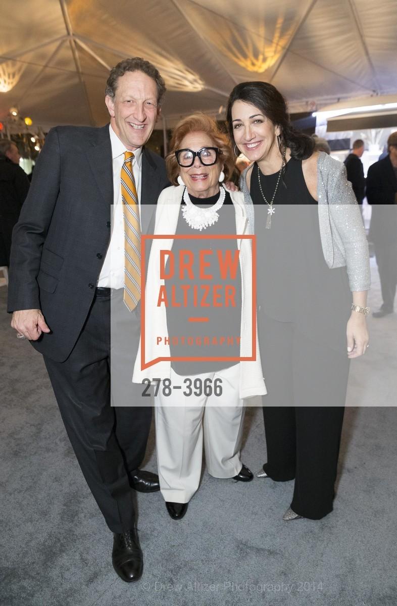 Larry Baer, Ellen Newman, Pam Baer, Photo #278-3966