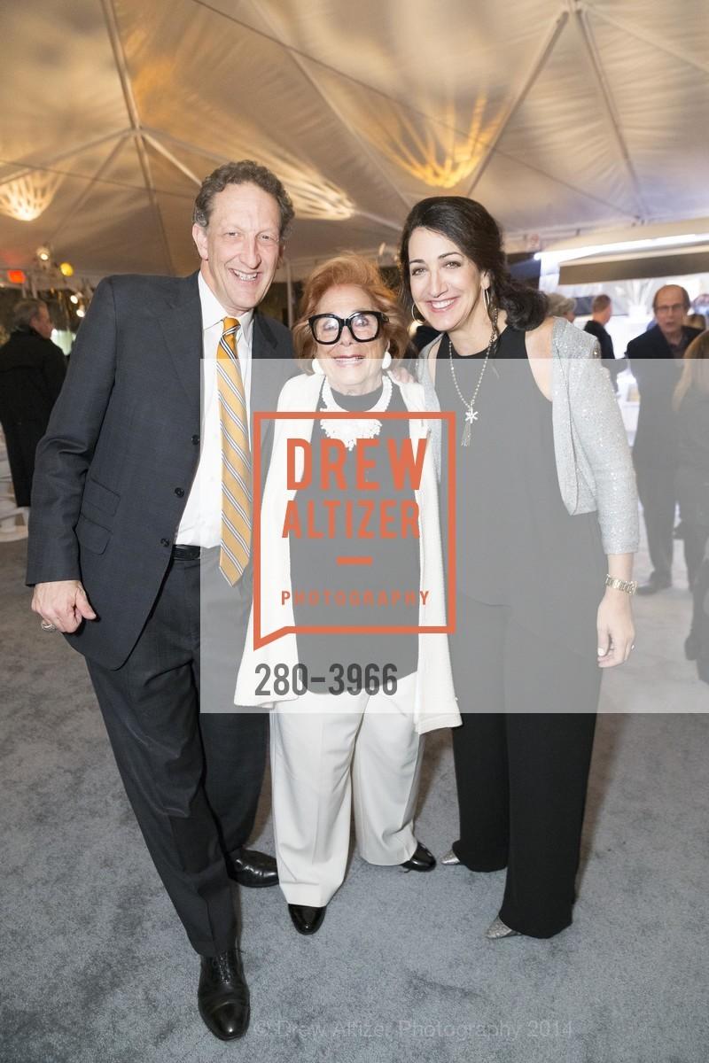 Larry Baer, Ellen Newman, Pam Baer, Photo #280-3966