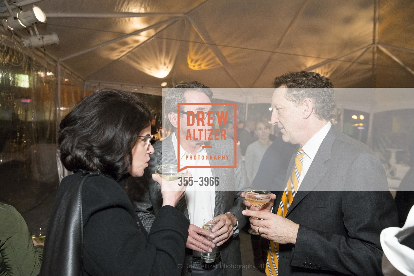 Katherine Feinstein, Rick Mariano, Larry Baer, Photo #355-3966