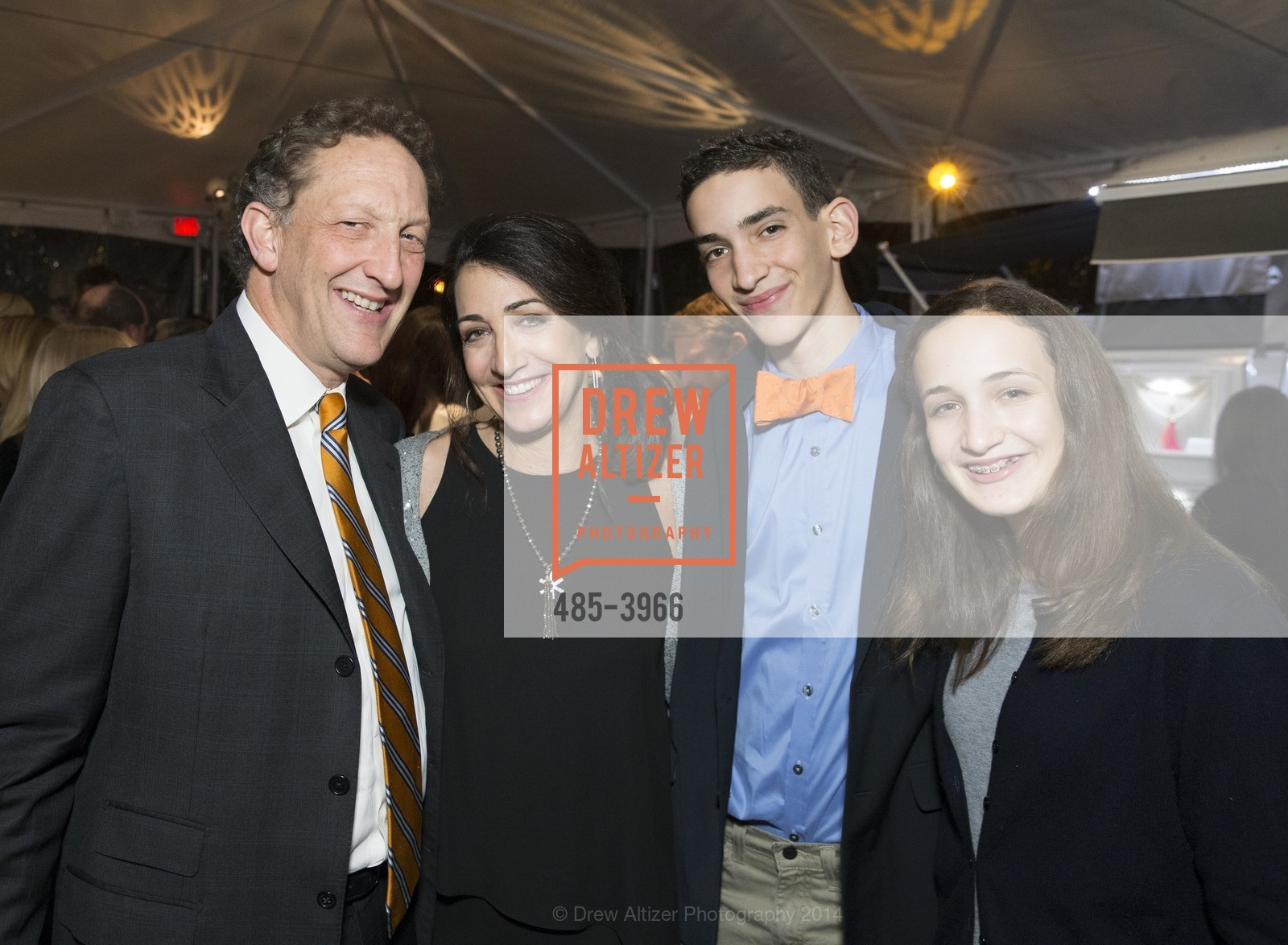 Larry Baer, Pam Baer, Zack Baer, Alana Baer, Photo #485-3966