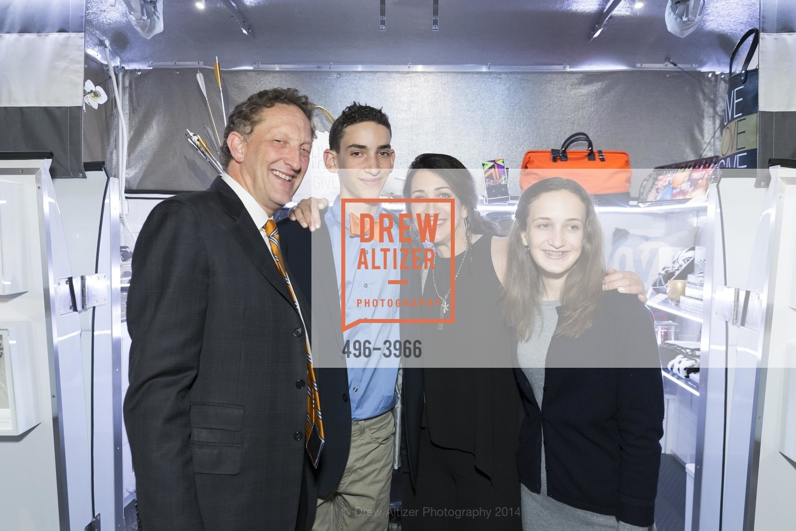 Larry Baer, Zack Baer, Pam Baer, Alana Baer, Photo #496-3966