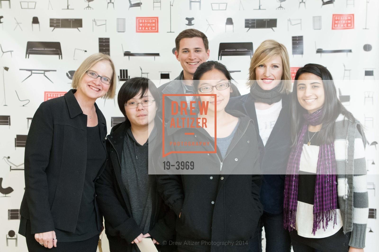 Katherine Lambert, Debbie Shih, Adam Klafter, Grace Chang, Tiffany Blaylock, Anushe Babar, Photo #19-3969