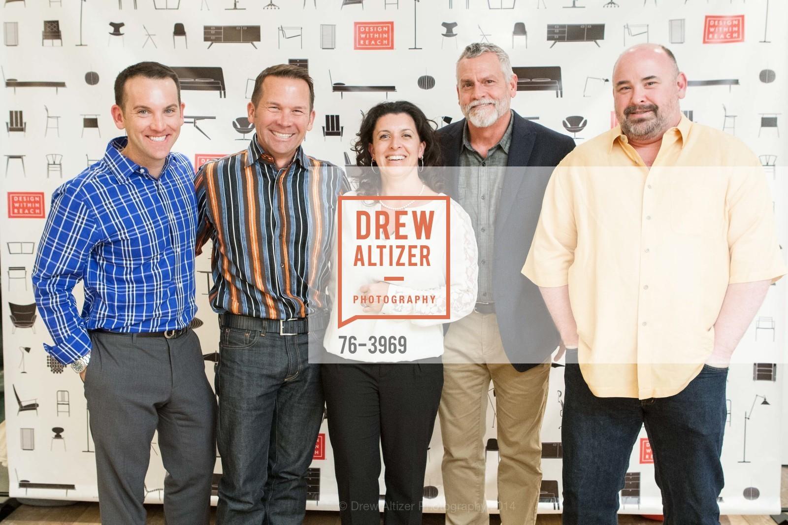 Matt Woebcke, Michael Kinsella, Brandi Tribulato, Greg DeMeza, Joey Lang, Photo #76-3969