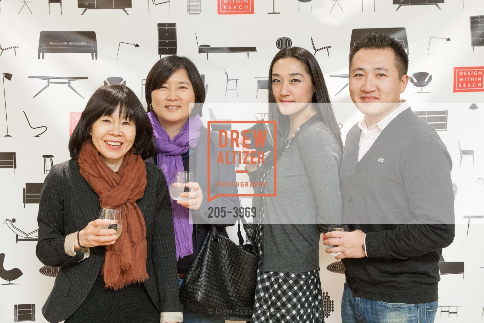Linda Tuggle, Doo Kim, Jennifer Feo, Ed Zhang, Photo #205-3969