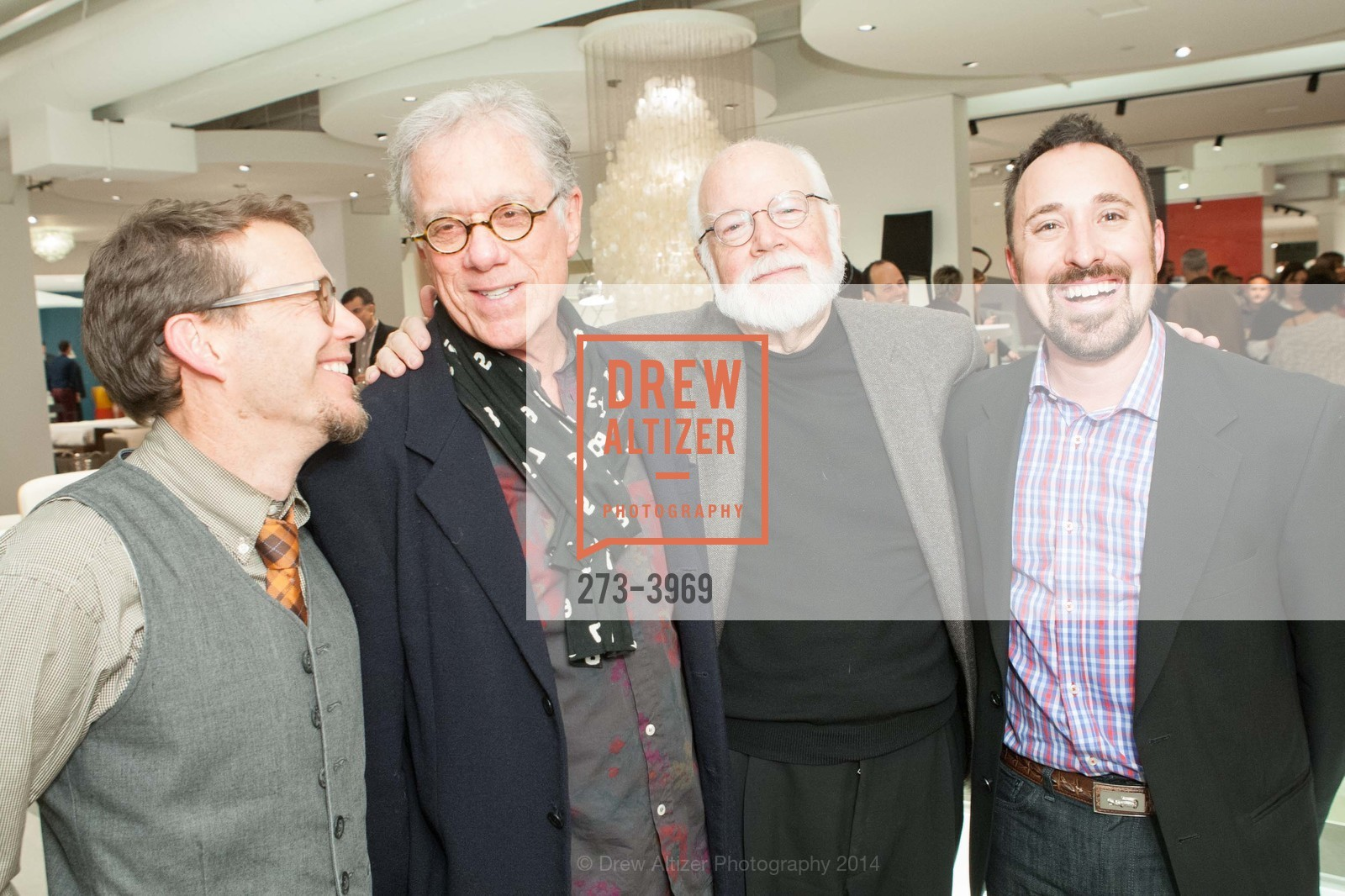 Ted Boerner, Rob Forbes, Kit Hinrichs, Eric Toth, Photo #273-3969