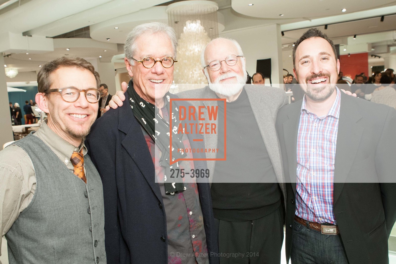 Ted Boerner, Rob Forbes, Kit Hinrichs, Eric Toth, Photo #275-3969