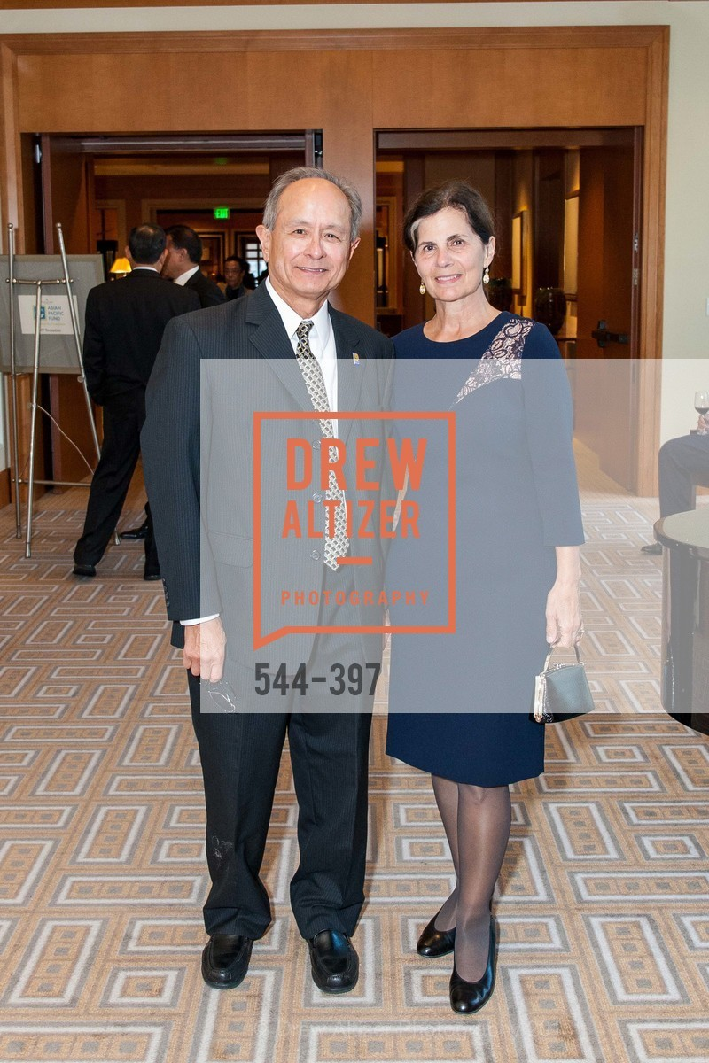 Les Wong, Phyllis Wong, Asian Pacific Fund's Annual Gala, Four Seasons, October 17th, 2015