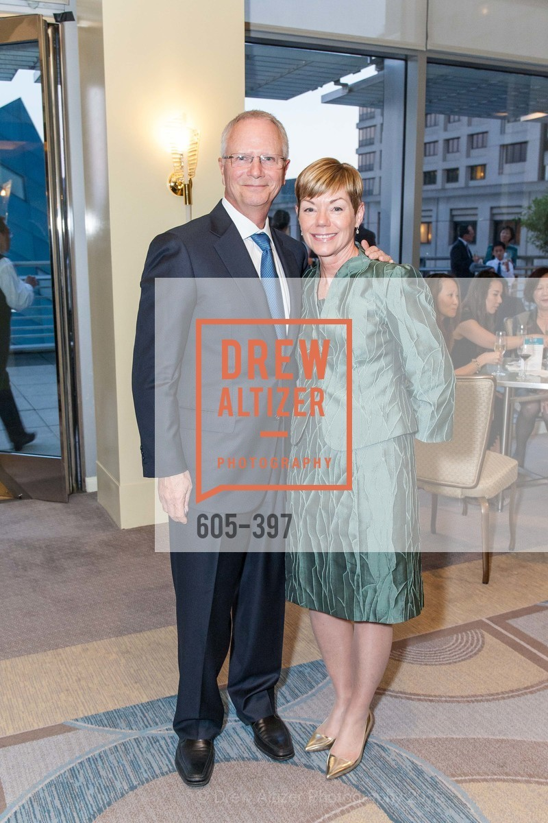 Michael Downey, Paula Downey, Asian Pacific Fund's Annual Gala, Four Seasons, October 17th, 2015