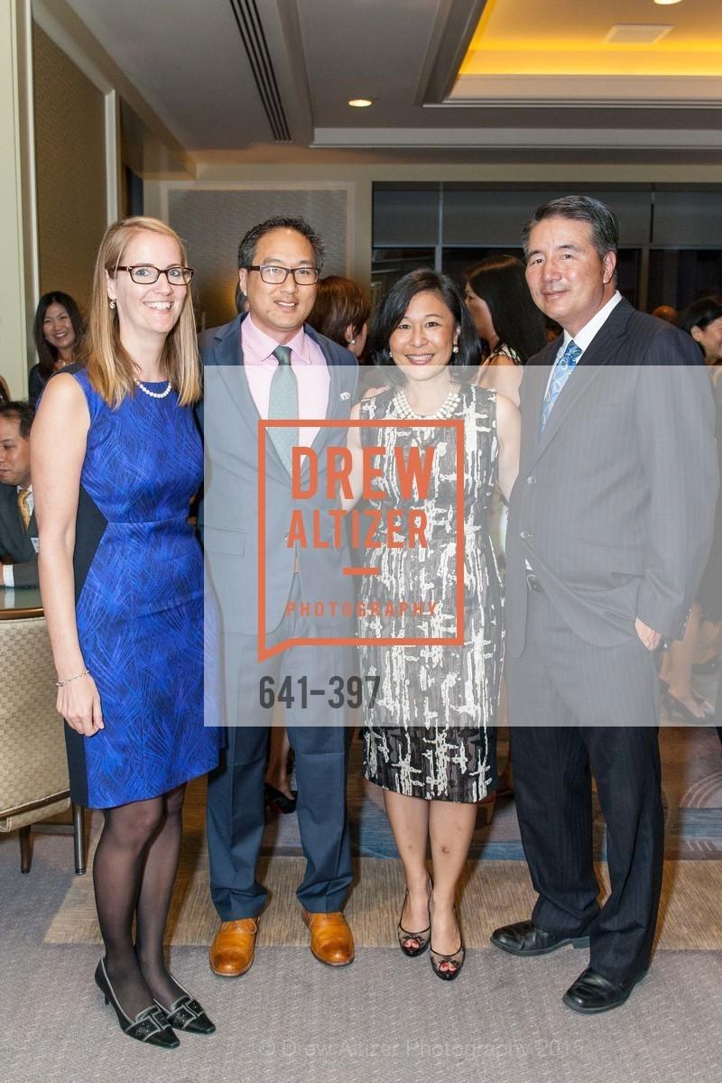 Julia Tang, Jonathan Tang, Kathy Chou, Tom Chou, Asian Pacific Fund's Annual Gala, Four Seasons, October 17th, 2015