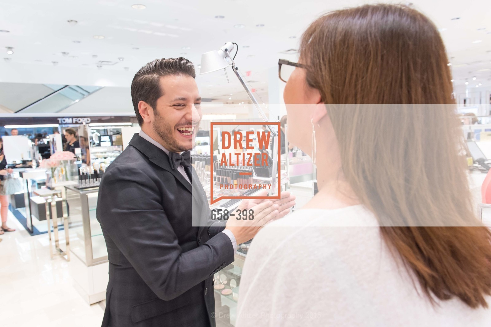 Dustin Lujan, Project Beauty at Neiman Marcus Palo Alto, Neiman Marcus, October 16th, 2015,Drew Altizer, Drew Altizer Photography, full-service agency, private events, San Francisco photographer, photographer california