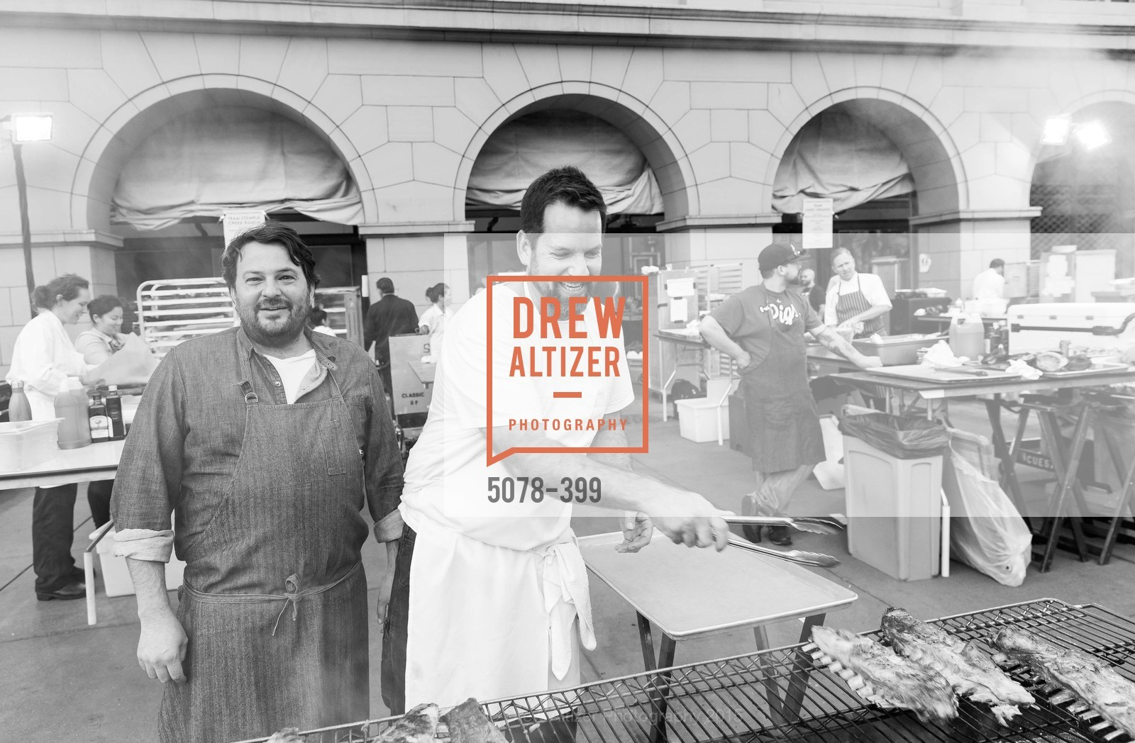 Stuart Brioza, Laurence Jossel, CUESA's Sunday Supper: A Farm to City Feast, San Francisco Ferry Building, October 18th, 2015,Drew Altizer, Drew Altizer Photography, full-service agency, private events, San Francisco photographer, photographer california