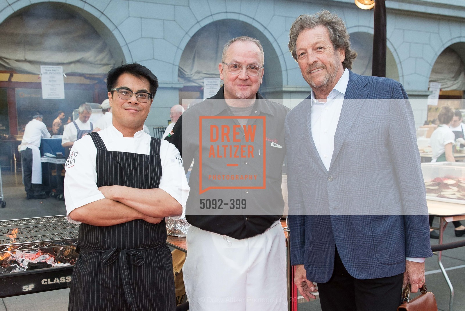 Emmanuel Eng, Bruce Hill, Doug Biederbeck, CUESA's Sunday Supper: A Farm to City Feast, San Francisco Ferry Building, October 18th, 2015,Drew Altizer, Drew Altizer Photography, full-service agency, private events, San Francisco photographer, photographer california