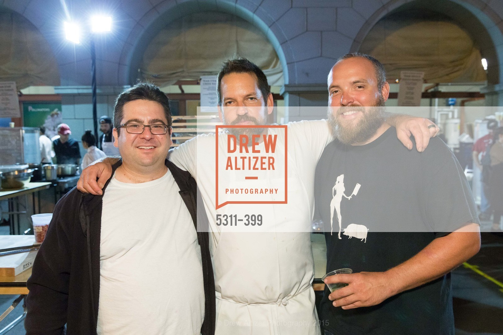 Jeff Banker, Laurence Jossel, Ryan Farr, CUESA's Sunday Supper: A Farm to City Feast, San Francisco Ferry Building, October 18th, 2015