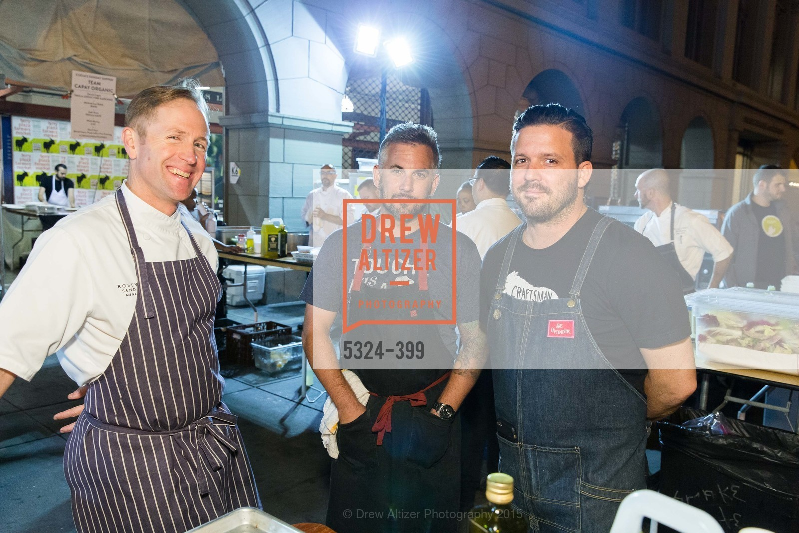 Peter Rudolph, David Bazirgan, William Werner, CUESA's Sunday Supper: A Farm to City Feast, San Francisco Ferry Building, October 18th, 2015,Drew Altizer, Drew Altizer Photography, full-service agency, private events, San Francisco photographer, photographer california