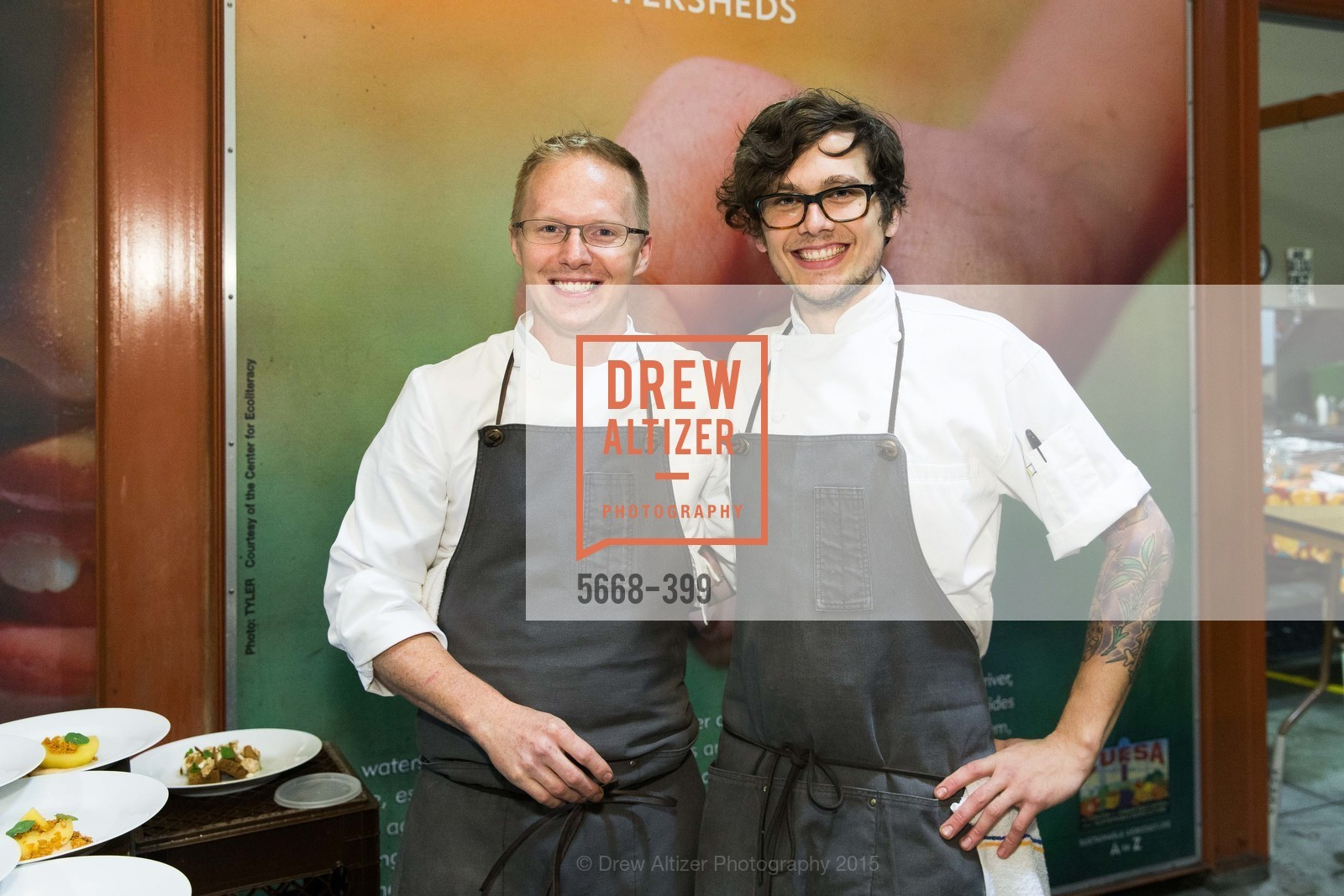 John Thurman, Sean Ehland, CUESA's Sunday Supper: A Farm to City Feast, San Francisco Ferry Building, October 18th, 2015,Drew Altizer, Drew Altizer Photography, full-service agency, private events, San Francisco photographer, photographer california