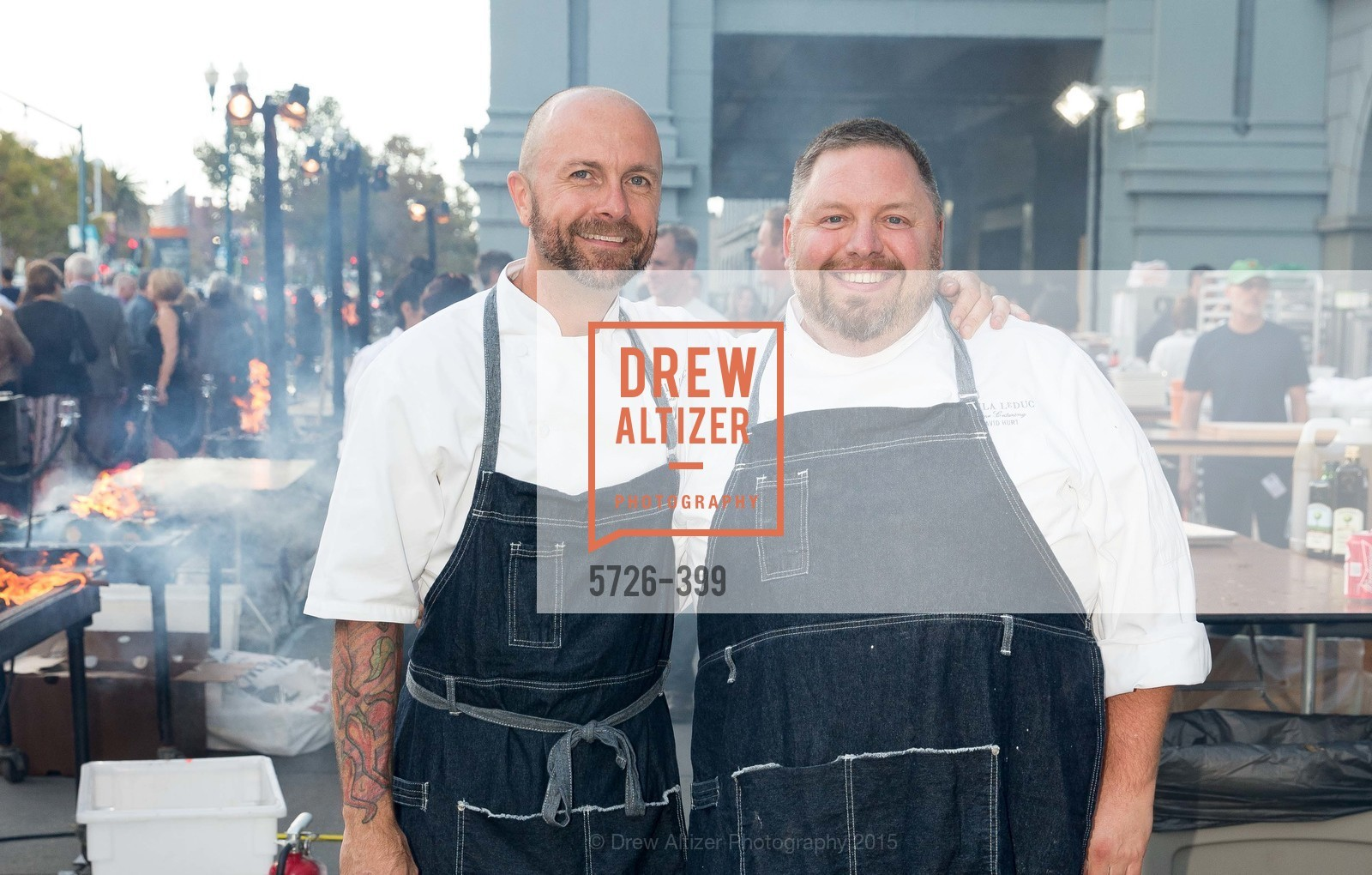 Daniel Capra, David Hurt, CUESA's Sunday Supper: A Farm to City Feast, San Francisco Ferry Building, October 18th, 2015,Drew Altizer, Drew Altizer Photography, full-service agency, private events, San Francisco photographer, photographer california