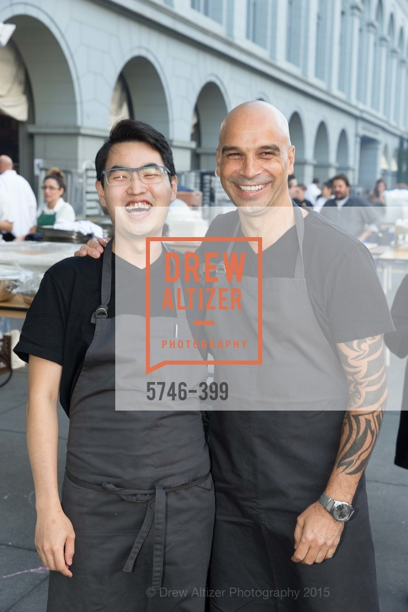 Sang Mun, Mourad Lahlou, CUESA's Sunday Supper: A Farm to City Feast, San Francisco Ferry Building, October 18th, 2015,Drew Altizer, Drew Altizer Photography, full-service event agency, private events, San Francisco photographer, photographer California