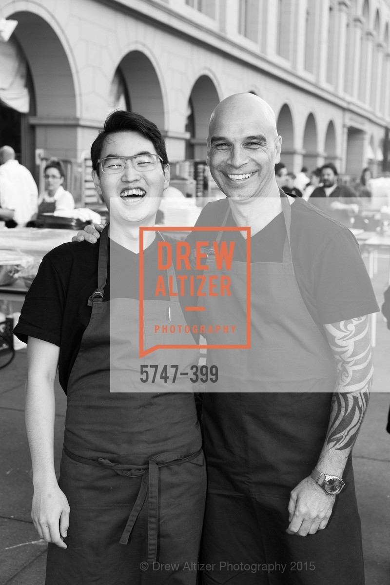 Sang Mun, Mourad Lahlou, CUESA's Sunday Supper: A Farm to City Feast, San Francisco Ferry Building, October 18th, 2015,Drew Altizer, Drew Altizer Photography, full-service agency, private events, San Francisco photographer, photographer california