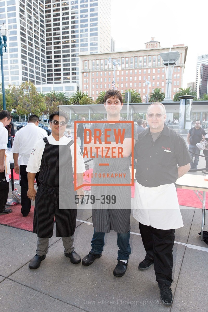 Emmanuel Eng, Lane Milburn, Bruce Hill, CUESA's Sunday Supper: A Farm to City Feast, San Francisco Ferry Building, October 18th, 2015,Drew Altizer, Drew Altizer Photography, full-service agency, private events, San Francisco photographer, photographer california