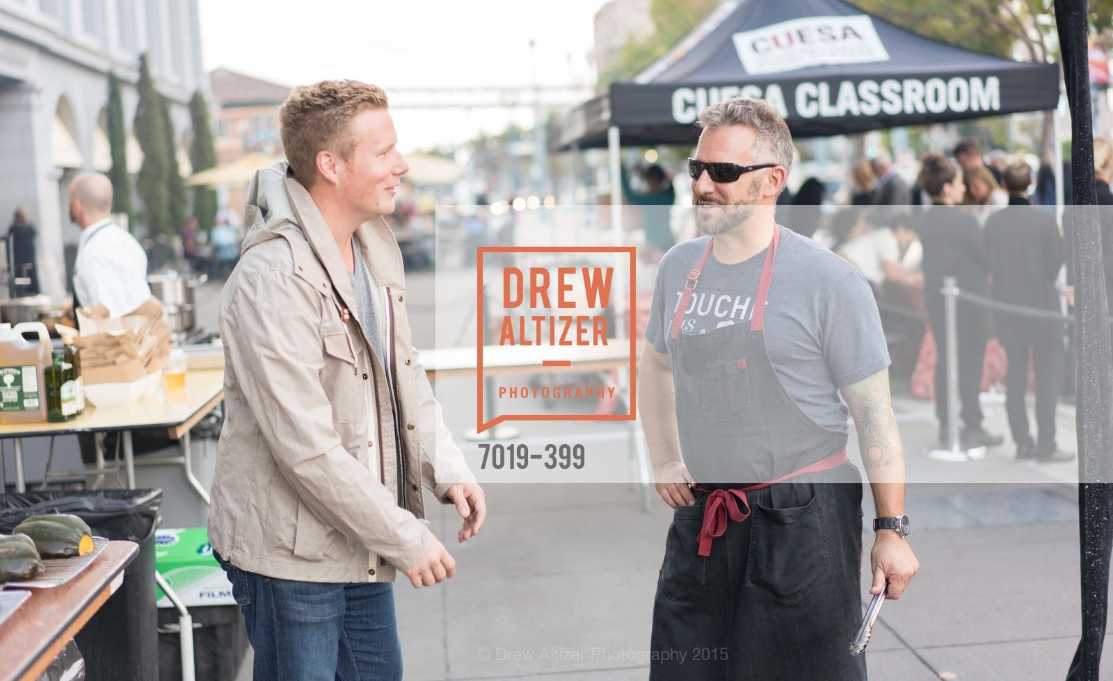 Thomas McNaughton, David Bazirgan, CUESA's Sunday Supper: A Farm to City Feast, San Francisco Ferry Building, October 18th, 2015,Drew Altizer, Drew Altizer Photography, full-service agency, private events, San Francisco photographer, photographer california