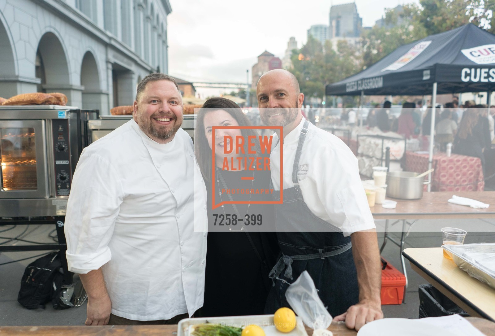 David Hurt, Ashley Capra, Daniel Capra, CUESA's Sunday Supper: A Farm to City Feast, San Francisco Ferry Building, October 18th, 2015,Drew Altizer, Drew Altizer Photography, full-service agency, private events, San Francisco photographer, photographer california