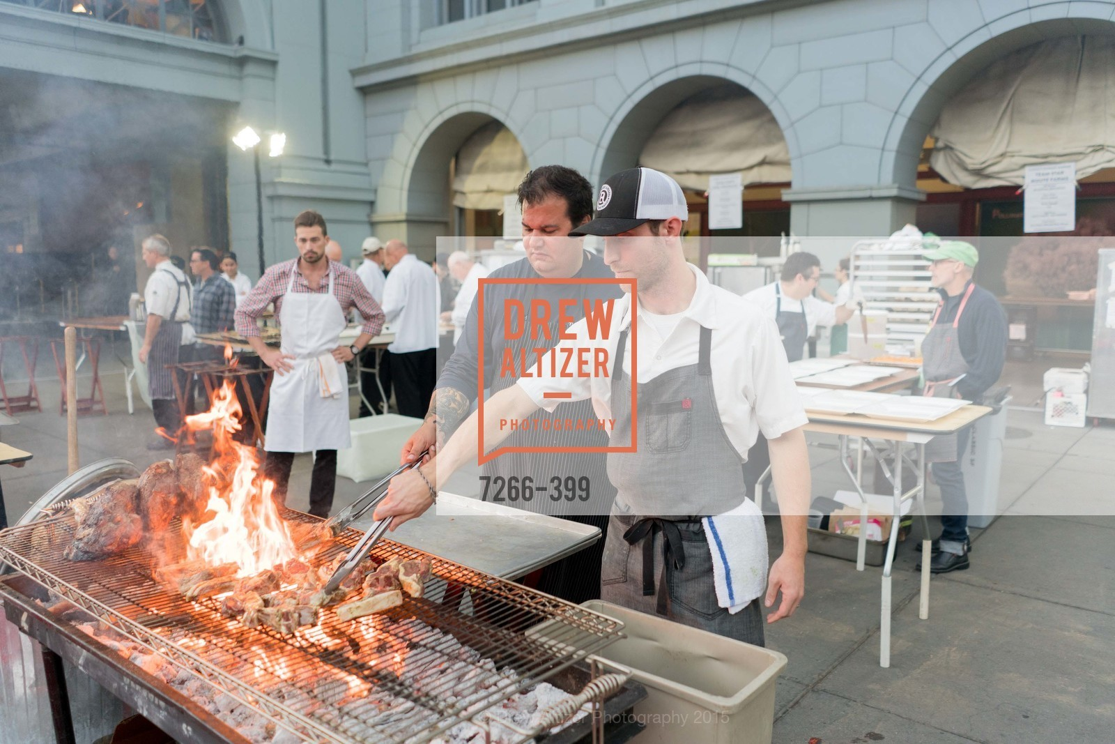 Rocky Maselli, CUESA's Sunday Supper: A Farm to City Feast, San Francisco Ferry Building, October 18th, 2015