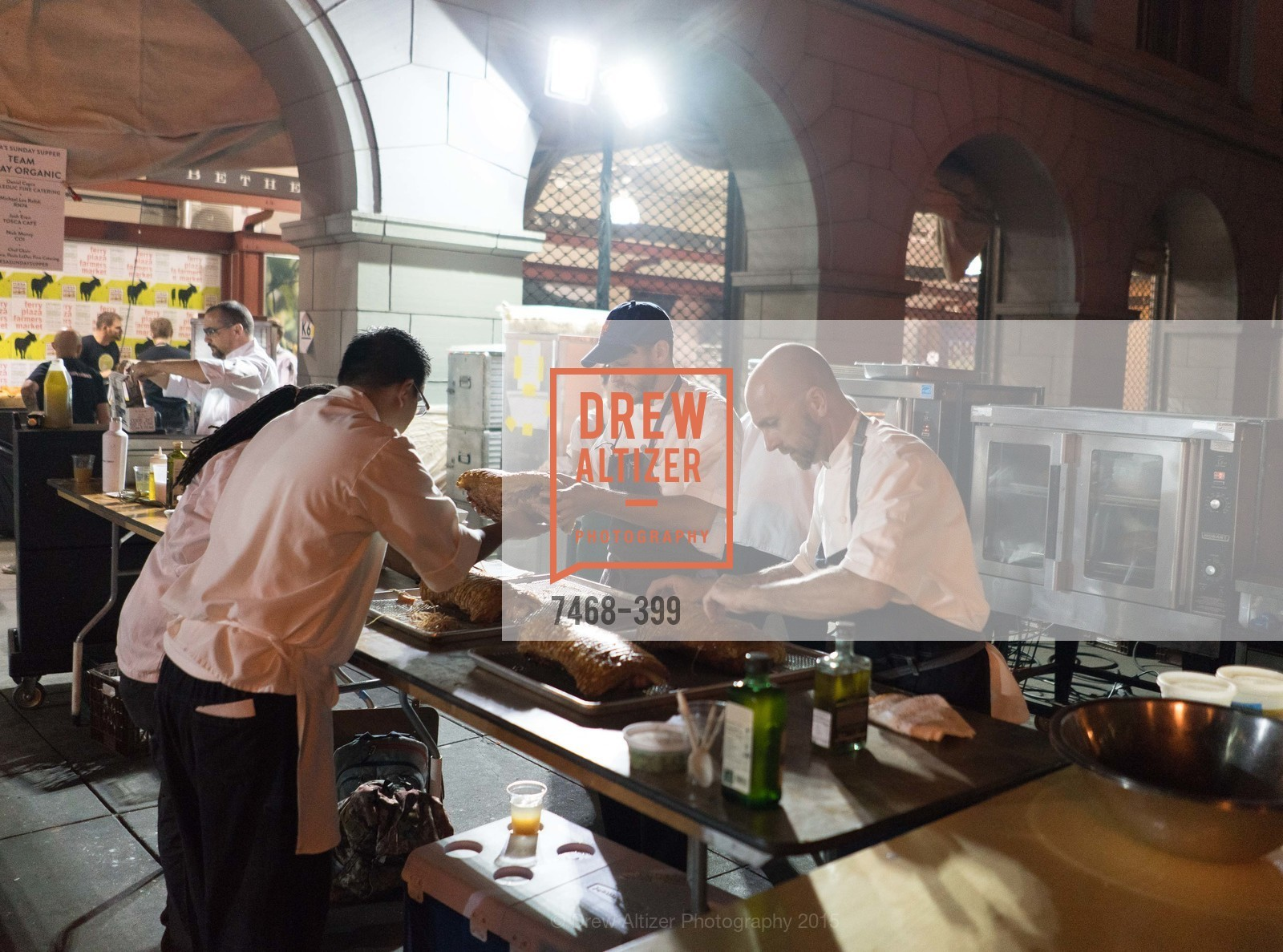 Josh Even, Daniel Capra, CUESA's Sunday Supper: A Farm to City Feast, San Francisco Ferry Building, October 18th, 2015,Drew Altizer, Drew Altizer Photography, full-service agency, private events, San Francisco photographer, photographer california