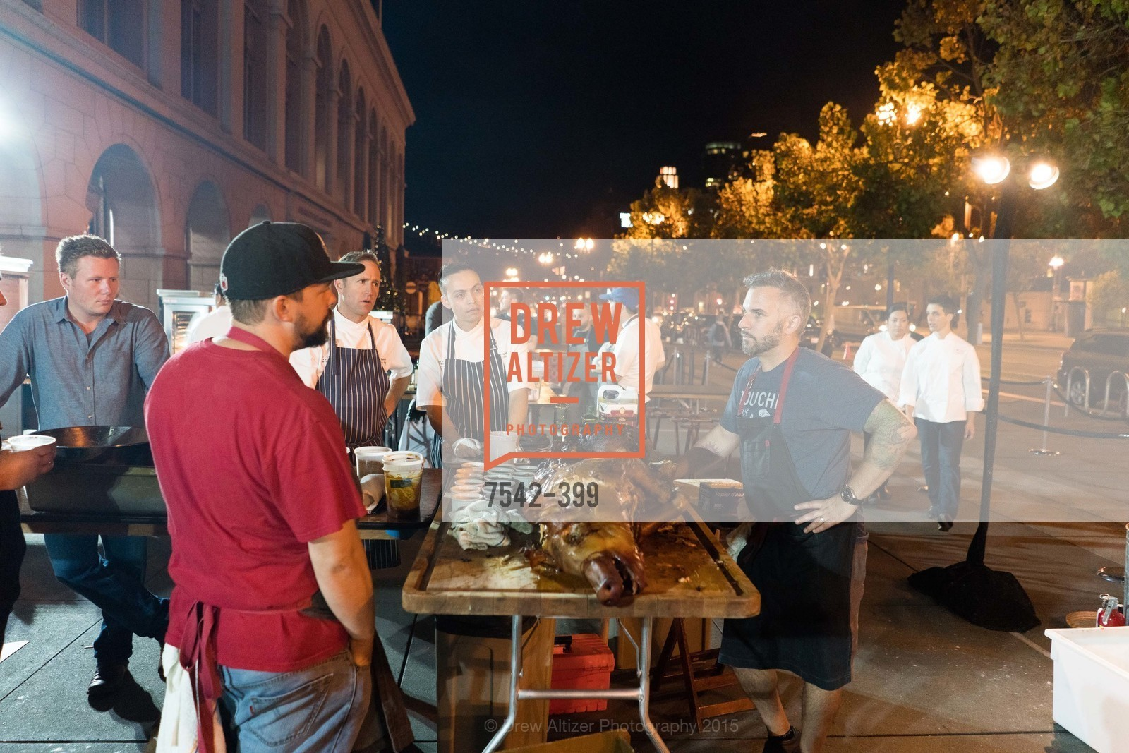 Peter Rudolph, Reyloun Augustin, David Bazirgan, CUESA's Sunday Supper: A Farm to City Feast, San Francisco Ferry Building, October 18th, 2015,Drew Altizer, Drew Altizer Photography, full-service agency, private events, San Francisco photographer, photographer california