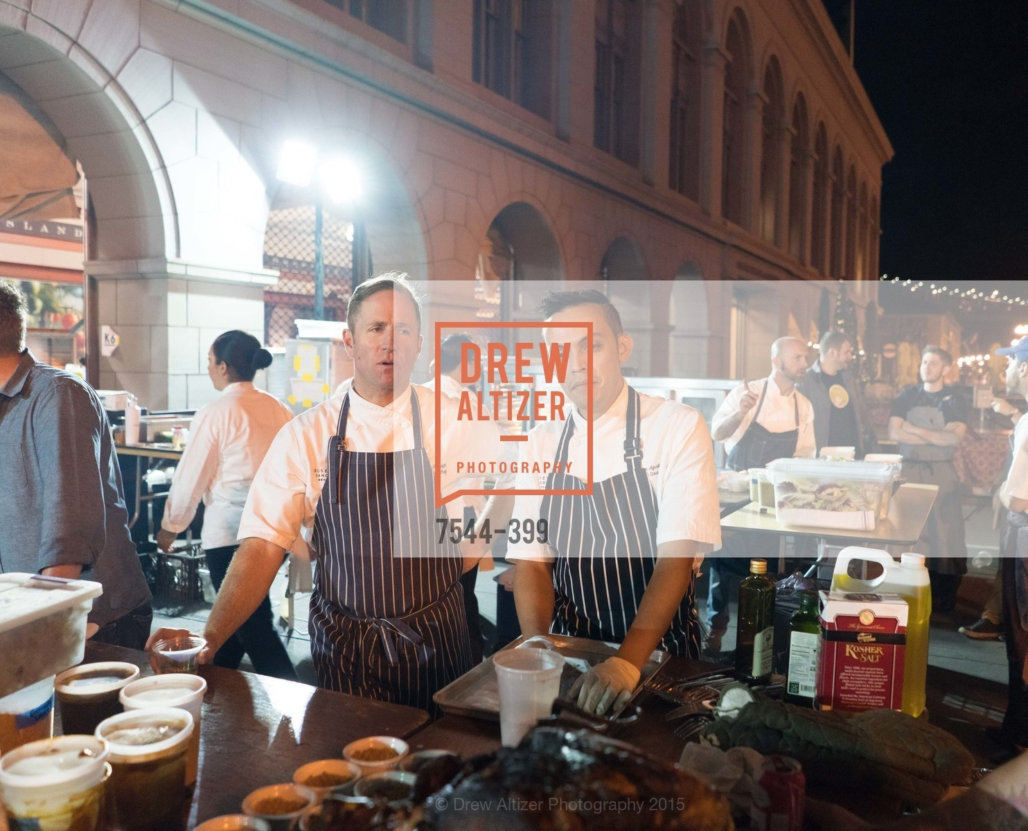 Peter Rudolph, Reyloun Augustin, CUESA's Sunday Supper: A Farm to City Feast, San Francisco Ferry Building, October 18th, 2015,Drew Altizer, Drew Altizer Photography, full-service agency, private events, San Francisco photographer, photographer california