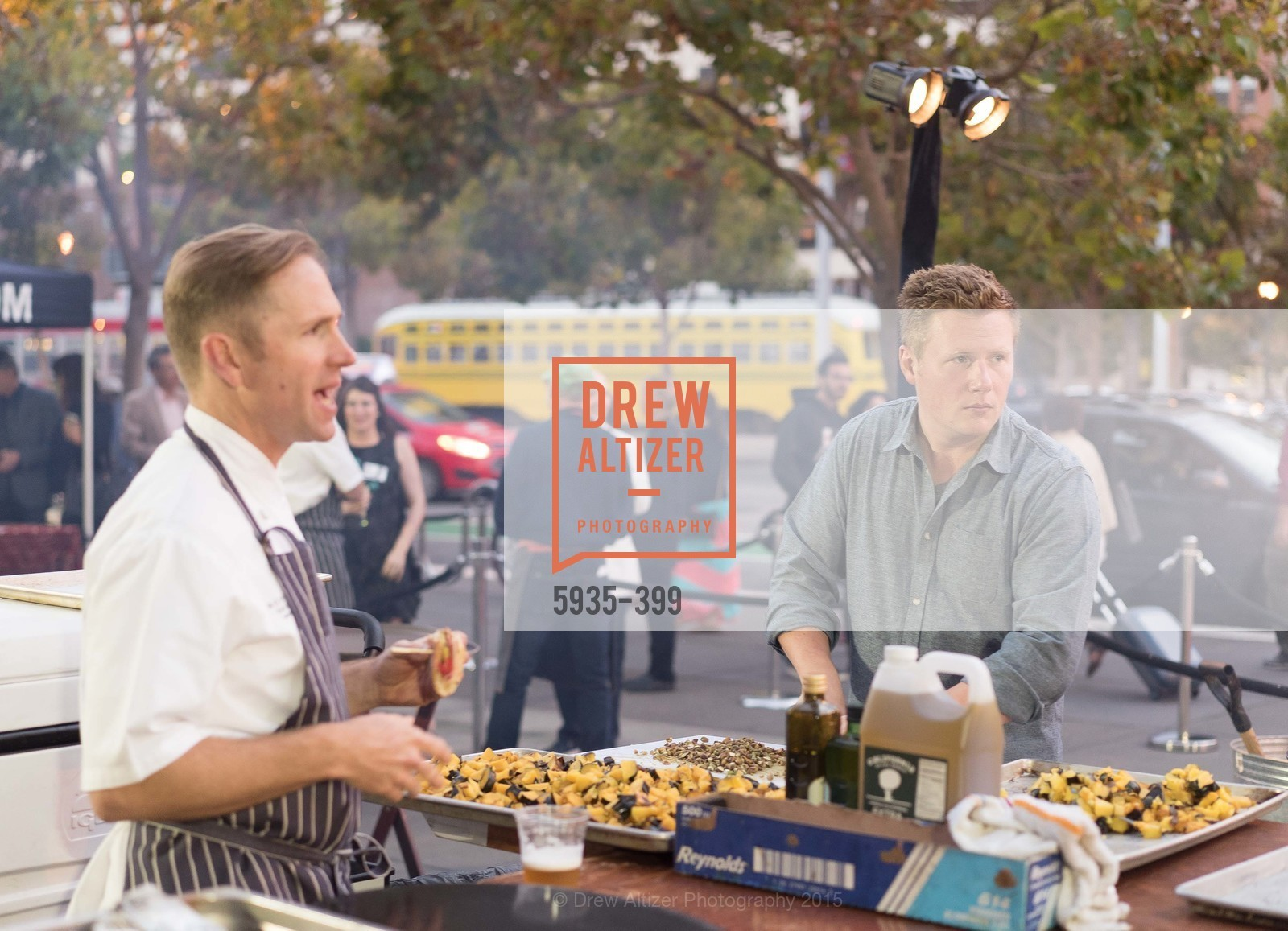 Peter Rudolph, Thomas McNaughton, CUESA's Sunday Supper: A Farm to City Feast, San Francisco Ferry Building, October 18th, 2015,Drew Altizer, Drew Altizer Photography, full-service agency, private events, San Francisco photographer, photographer california