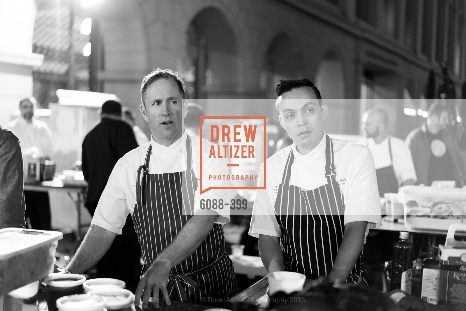 Peter Rudolph, Reyloun Augustin, CUESA's Sunday Supper: A Farm to City Feast, San Francisco Ferry Building, October 18th, 2015