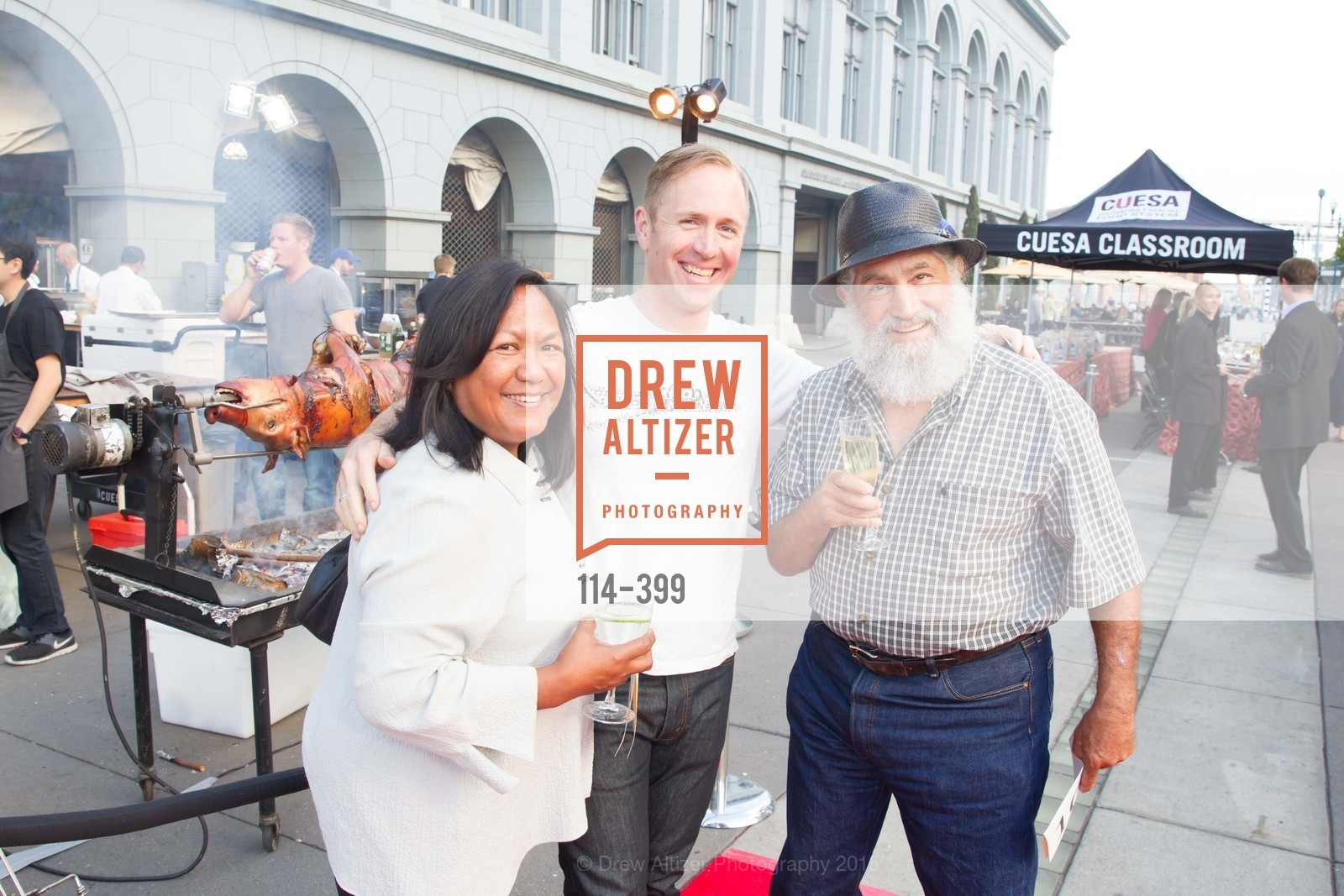 Rebecca Torosian, Peter Rudolph, Tory Torosian, CUESA's Sunday Supper: A Farm to City Feast, San Francisco Ferry Building, October 18th, 2015,Drew Altizer, Drew Altizer Photography, full-service agency, private events, San Francisco photographer, photographer california