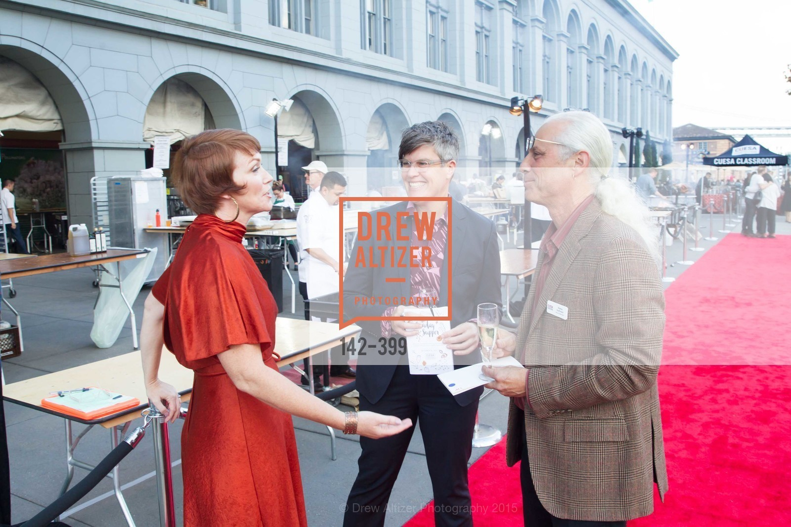 Christine Farren, Marcy Coburn, Steve Sullivan, CUESA's Sunday Supper: A Farm to City Feast, San Francisco Ferry Building, October 18th, 2015,Drew Altizer, Drew Altizer Photography, full-service agency, private events, San Francisco photographer, photographer california