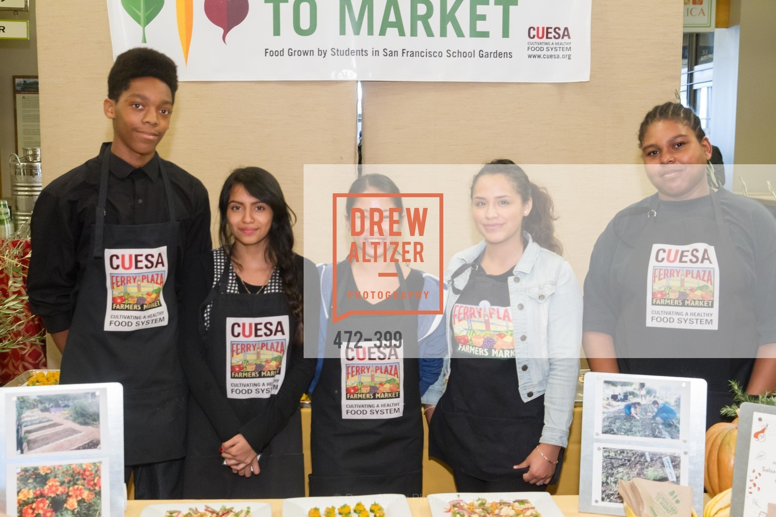 Katherine Bermudez, Victoria Louie, Tyree Lewis, CUESA's Sunday Supper: A Farm to City Feast, San Francisco Ferry Building, October 18th, 2015,Drew Altizer, Drew Altizer Photography, full-service agency, private events, San Francisco photographer, photographer california