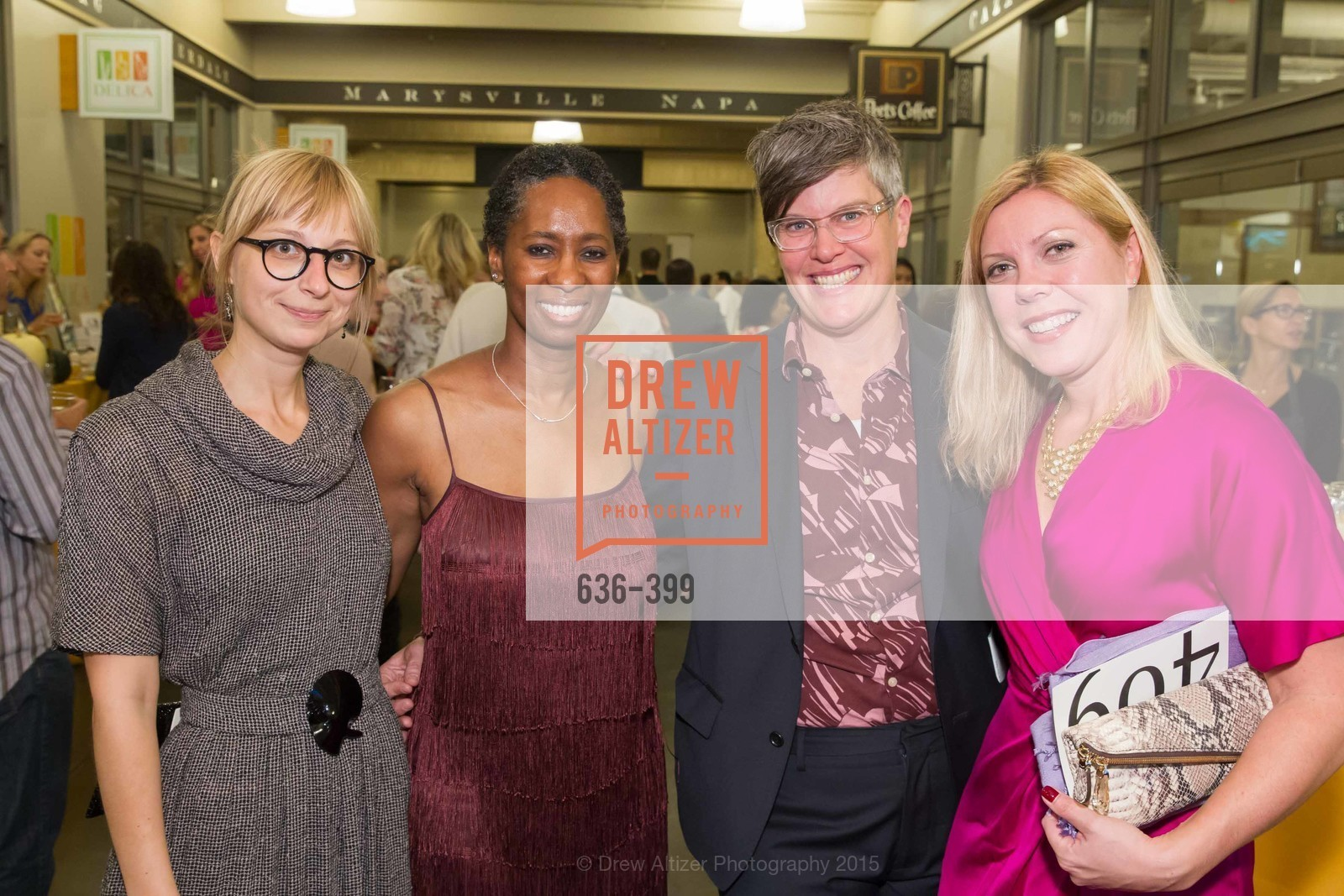 Brie Mazurek, Saeeda Hafiz, Marcy Coburn, Alexis Mersel, CUESA's Sunday Supper: A Farm to City Feast, San Francisco Ferry Building, October 18th, 2015,Drew Altizer, Drew Altizer Photography, full-service agency, private events, San Francisco photographer, photographer california