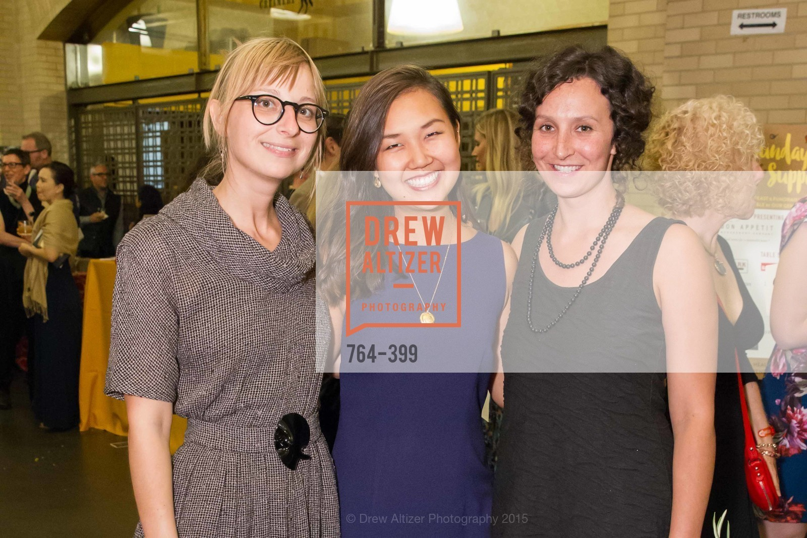 Brie Mazurek, Kayla Abe, Tessa Kappe, CUESA's Sunday Supper: A Farm to City Feast, San Francisco Ferry Building, October 18th, 2015,Drew Altizer, Drew Altizer Photography, full-service agency, private events, San Francisco photographer, photographer california